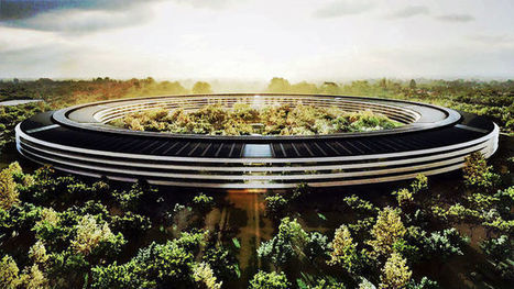Is Apple's campus design about making the corporation your ENTIRE life? | News | Archinect | The Architecture of the City | Scoop.it