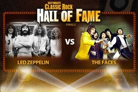 Led Zeppelin Vs. the Faces - Ultimate Classic Rock Hall of Fame Finals - Ultimate Classic Rock   Classic Urban Rock   Scoop.it