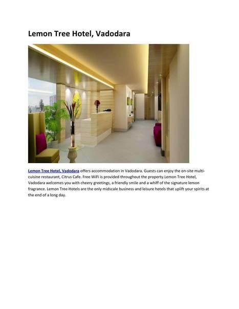 Hotels in Vadodara Gujarat | hotels | Scoop.it