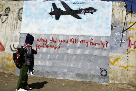 Yemen's New Ways of Protesting Drone Strikes: Graffiti and Poetry - TIME | Fight and Flight | Scoop.it