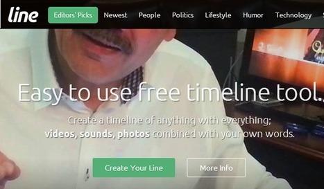 Line.do. Sencillas líneas de tiempo multimedia | Herramientas 2.0 | Scoop.it