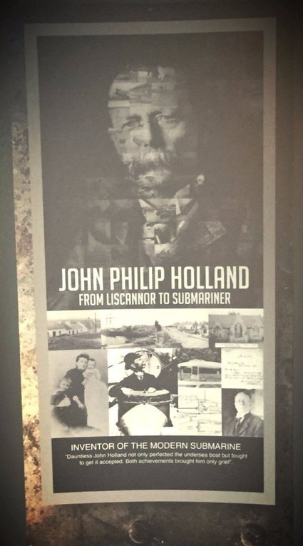Why Stop at the John P Holland Centre, Liscannor? | Of Interest to Friends of Ireland | Scoop.it