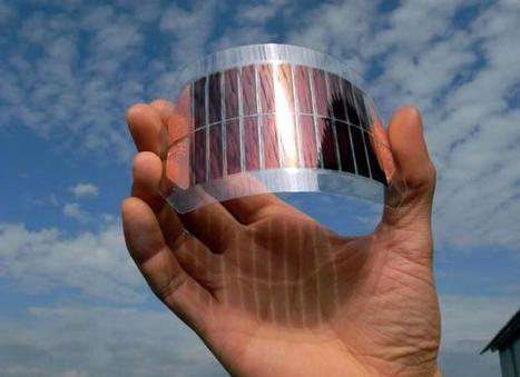 Photovoltaïque 3e génération : l'encre photovoltaique 10 a 20 fois moins cher qu'un panneau classique   Espace, nature, sciences et technologies   Scoop.it