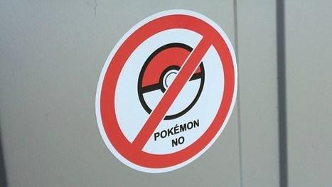 Pokémon Go wordt Pokémon No: Sticker houdt ongewenste Pokémon Go-spelers buiten de deur | ICT en Onderwijs | Scoop.it