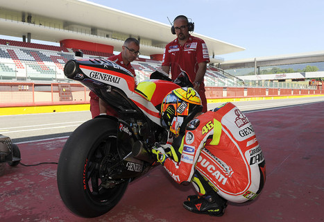 Ducati Press Release: Rossi Tests The Ducati At Mugello ... | Ducati & Italian Bikes | Scoop.it