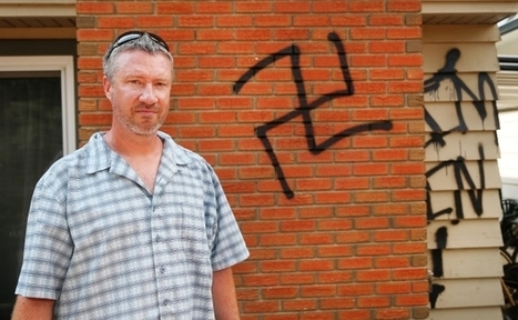 Nazi graffiti spray-painted on S.E. Calgary homes | Painting Services in Calgary | Scoop.it
