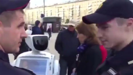 Russian Runaway Robot Radicalized, Got 'Arrested' at Political Rally  | News we like | Scoop.it