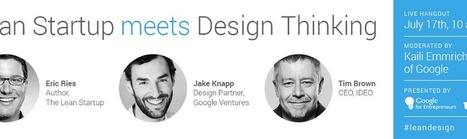 Lean Startup Meets Design Thinking – Google+ | Design Thinking | Scoop.it