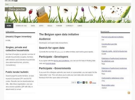data.gov.be | The Belgian open data initiative | In bed with data | Scoop.it