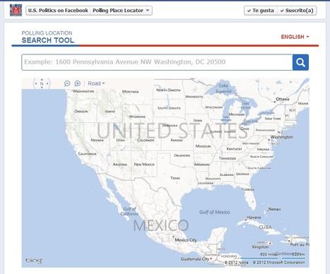 Facebook localiza centro de votación para electores en EE.UU | TIC, educación y aprendizaje en un mundo hiperconectado | Scoop.it