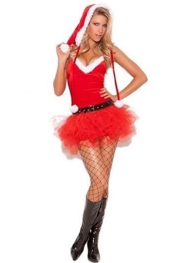$25.89 Santa's Little Helper Sexy Women Sweetie Christmas Costume   Favorite Costumes   Scoop.it