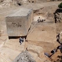 Largest Stone Block From Antiquity Found : DNews | L'histoire sur la toile | Scoop.it