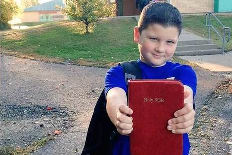 'Bring Your Bible to School Day' Celebrating Religious Freedom Draws Over 140,000 Participants | Hodgepodge | Scoop.it