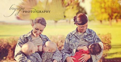 Quand des militaires américaines allaitent... - Le Baby Blog - Doctissimo | Autour de la puériculture, des parents et leurs bébés | Scoop.it