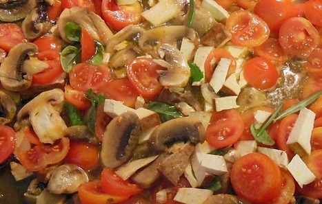 Piadina vegan del sottobosco - DaringToDo.com | Mangiare diverso | Scoop.it