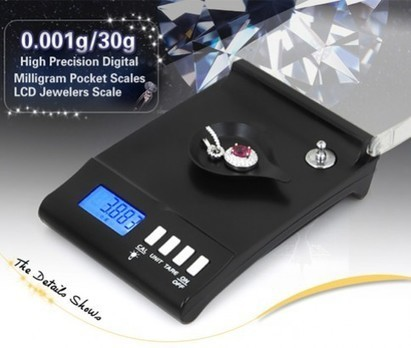 Buy Electronic Digital Milligram Pocket Jewellery Scale | Best Deal on Gadgets & Electronics | Scoop.it