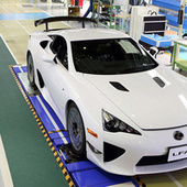 The Last Lexus LFA Supercar Was Built On Friday | All Cars | Scoop.it