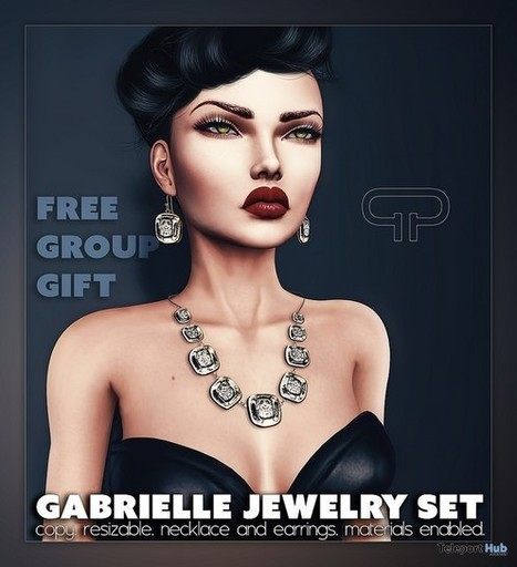 Gabrielle Jewelry Set Group Gift by Pure Poison | Teleport Hub - Second Life Freebies | Second Life Freebies | Scoop.it