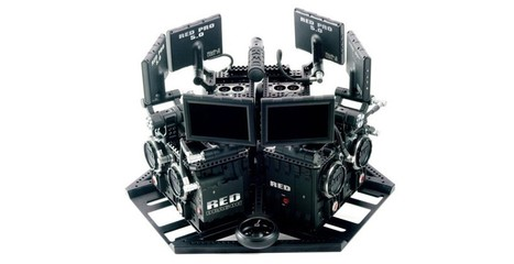 'Virtual Reality Camera System' uses 6 Red Dragons to make 360-degree video magic | 4D Pipeline - trends & breaking news in Visualization, Virtual Reality, Augmented Reality, 3D, Mobile, and CAD. | Scoop.it