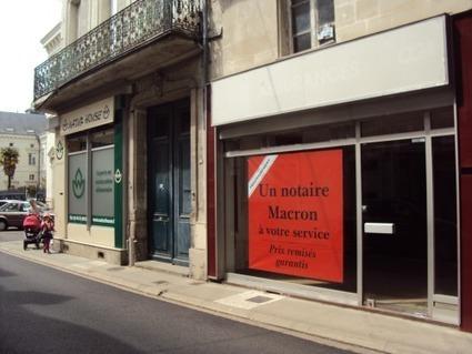 UN FUTUR NOTAIRE MACRON ANNONCE SON INSTALLATION À CHÂTELLERAULT - Le blog de avocats.notaires.over-blog.com | Chatellerault, secouez-moi, secouez-moi! | Scoop.it