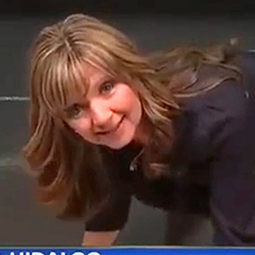 Camera fail forces meteorologist to show off her best dance moves - msnNOW | The Broadcast Meteorologist News | Scoop.it