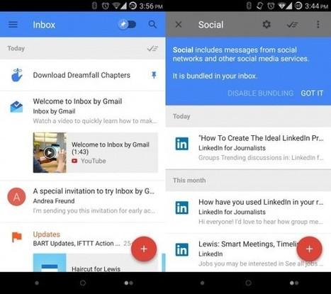 On a testé Inbox by Gmail, l'appli qui révolutionne nos emails selon Google   Geeks   Scoop.it