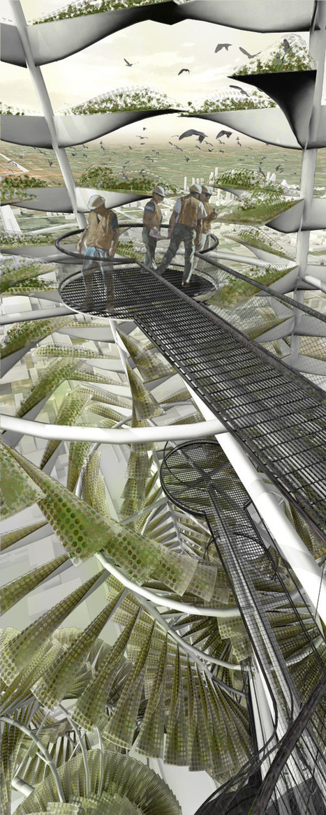 Urban Vertical Farming: Generative System for a Vegetable Growing Infrastructure | LuxTicker | Vertical Farm - Food Factory | Scoop.it