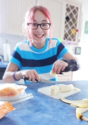 Class Act: Milford seventh-grader cooks up a curriculum for healthy cooking - The Union Leader | In the kitchen with Bruce | Scoop.it