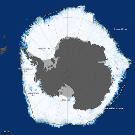 El hielo marino antártico alcanza un nuevo máximo de extensión | Agua | Scoop.it