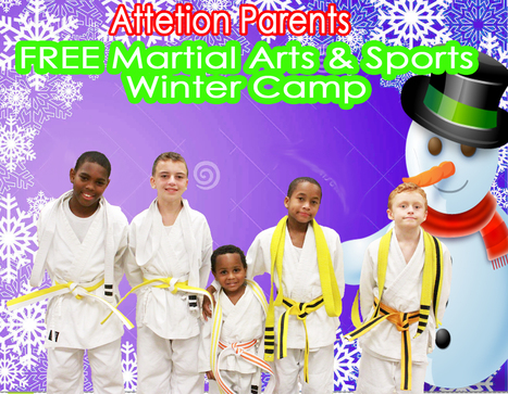 FREE Winter Camp Schedule Watch & Call Now 410-272-3799 | MMA | Scoop.it
