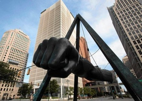 Monument to Joe Louis by Robert Graham | Art Installations, Sculpture, Contemporary Art | Scoop.it