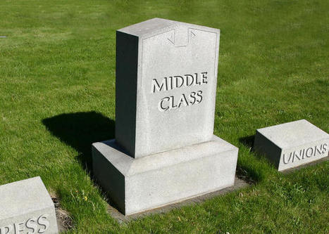 How to Save the Middle Class When Jobs Don't Pay Enough | Peer2Politics | Scoop.it