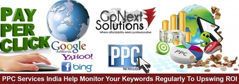 PPC Services India Help Monitor Your Keywords Regularly To Upswing ROI | Web Design, Website Development & Digital Marketing Company | Scoop.it