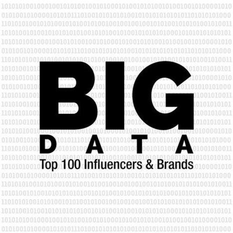 Big Data 2015: Top 100 Influencers and Brands – onalytica   Data   Scoop.it