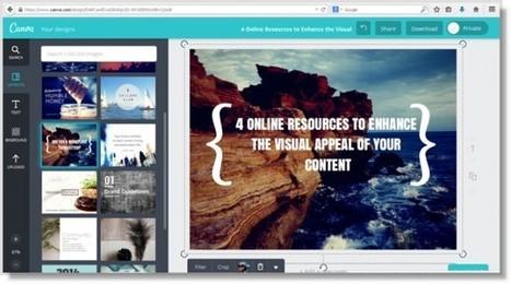 4 outils gratuits pour améliorer les images de votre marketing de contenu | Rédaction Web - Référencement - Seo - Inbound marketing | Scoop.it