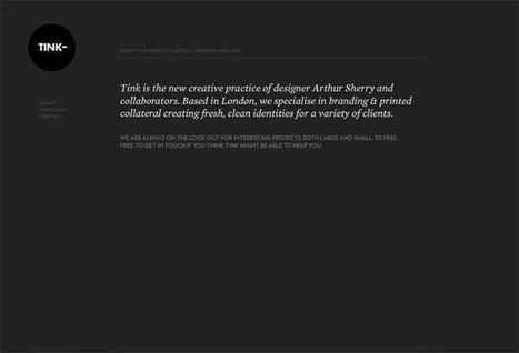 Minimalist Web Design: When Less is More | Minimalistic design showcase | Scoop.it