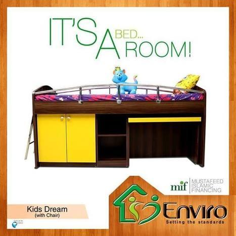 Kids Bed | Enviro Furniture | Scoop.it