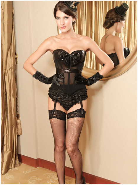 Cheap Corsets sexy Lingerie Bowknot Garters shapewear | my like | Scoop.it