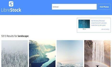 LibreStock: metabuscador para buscar imágenes libres en más de 40 sitios | Education_XXI | Scoop.it