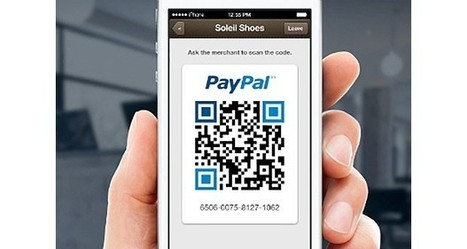 PayPal's Payment Code lets you purchase with QR codes | Marketing Automation | Scoop.it