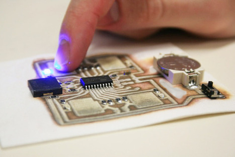 3D Printing Circuitry gets a Very Precise Kick | 3D_Materials journal | Scoop.it