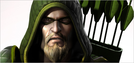 Green Arrow shooting into superhero fighting game 'Injustice: Gods Among Us ... - Entertainment Weekly | Comic books | Scoop.it