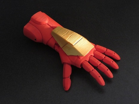 Laser Beaming, Thruster Equipped, Voice Controlled 3D Printed Prosthetic Iron Man Hand | RFID Solutions | Scoop.it