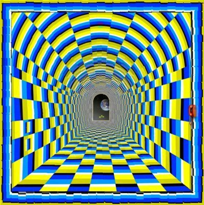 Amazing tunnel illusion….. | The brain and illusions | Scoop.it