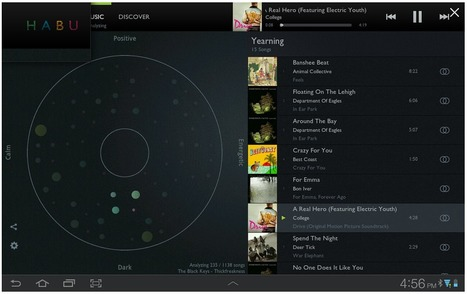 Habu Android App Creates A Playlist For Your Every Mood | Music business | Scoop.it