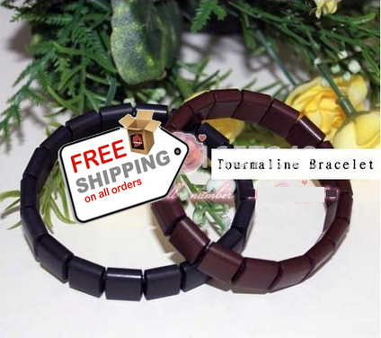 Tourmaline Bracelet Wristbands Negative Ion Health Care Healthy Bangles Ion   VERY INTERESTING Cool Stuff   Scoop.it