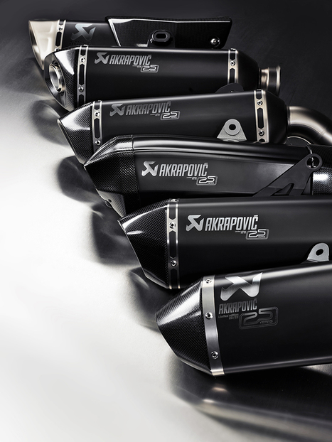 Ultra-Limited-Edition Akrapovic Exhausts Launched to Celebrate 25 Years | Motorcycle Industry News | Scoop.it