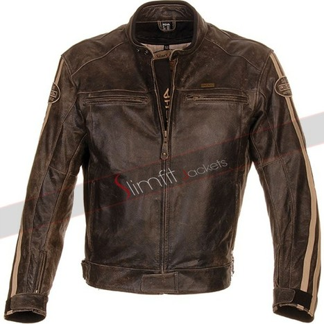 Richa Retro Moto Leather Jacket | Motorcycle Leather Jackets For Men and Women | Scoop.it