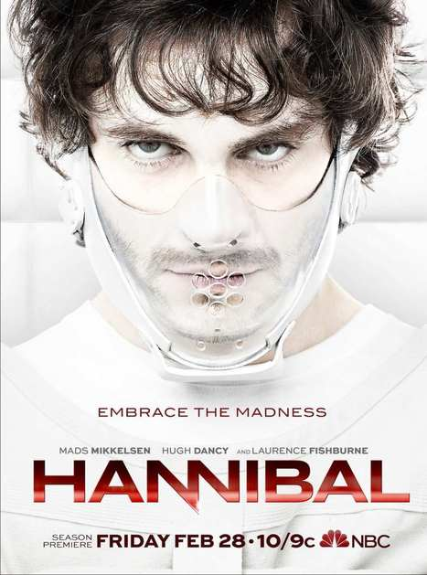 EMBRACE THE MADNESS | Hannibal | Scoop.it