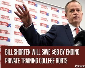 Tweet from @CFMEU | Invest in TAFE for a better State! | Scoop.it
